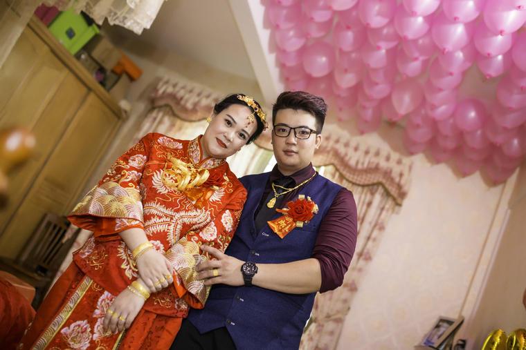 「首席摄影」简约中式单机婚礼摄影