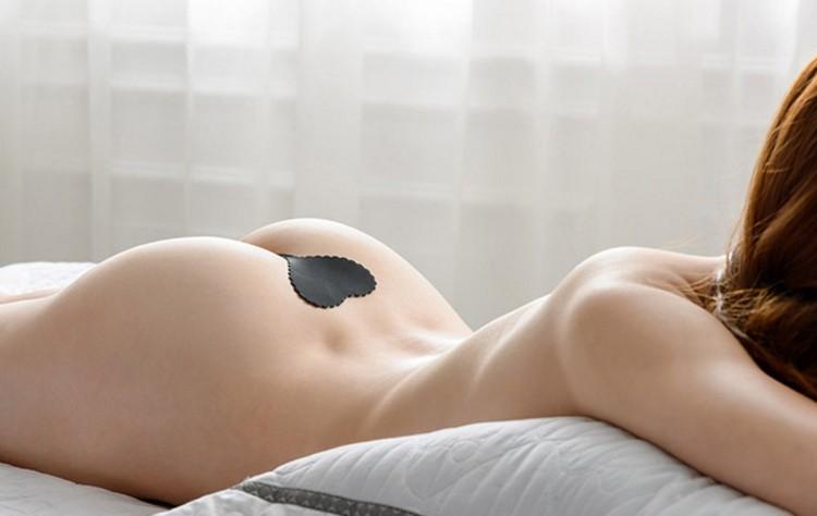 310内裤一片式丁字裤女性感隐形火辣c字裤u型透明全透