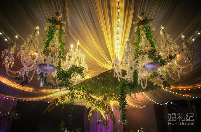 欧式婚礼金拱门