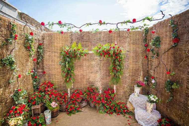 星罗云海▎农村院子不一样的户外婚礼