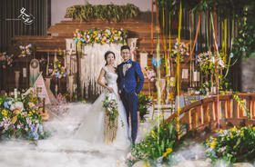 一场云南调性的主题婚礼摄影