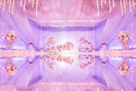 唯美梦幻风婚礼 紫色公主梦