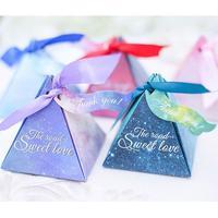 星空婚礼喜糖盒结婚伴手礼糖盒回礼个性创意婚庆纸盒子欧式包装盒