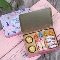 臻忆美 婚礼马口铁喜糖盒含糖 创意喜糖成品结婚伴手礼喜糖礼盒