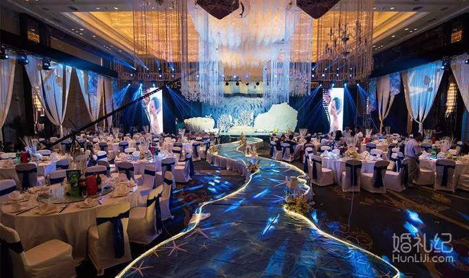 蓝色梦幻主题-海洋之恋(超值一站式套餐) -婚礼策划