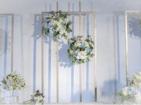 【禧乐元素清新婚礼】爱的纯净时光
