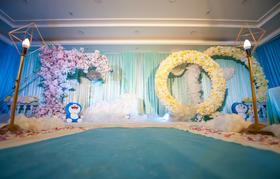 幸福的起航-创意哆啦A梦主题婚礼