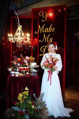 【吆柒婚礼跟拍】萍会所复古新娘婚礼