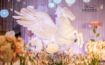 【太原大成唯爱婚礼】紫色系 约定今生 主题婚礼