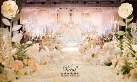 【太原大成唯爱婚礼】粉色系 爱之永恒 鲜花主题婚礼