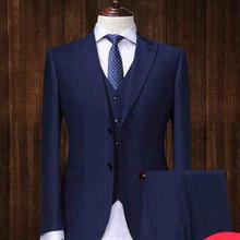 新郎结婚西服套装男商休闲正装男西装定制 韩版修身青年825