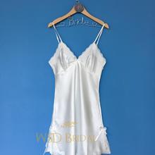 白色吊带睡裙蕾丝唯美内搭打底背心防走光性感新娘伴娘小清新