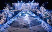蓝色主题婚礼布置「树洞婚礼」·情不知所起,一往而深