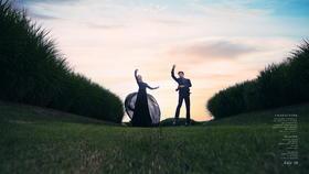 柏莫摄影工作室私人订制高级文艺风婚纱照