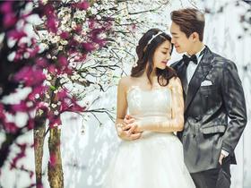 樱花之恋———世纪新娘婚纱摄影 韩式婚纱照