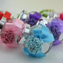 欧式创意结婚喜糖瓶玻璃喜糖盒大号 婚礼糖果盒薰衣草喜糖盒