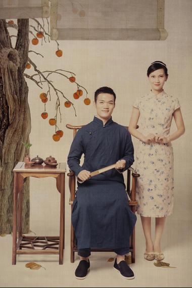 尚点高定棚拍婚纱照主题《中国风》
