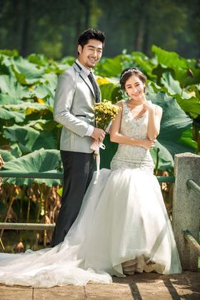 哈尼创意清新婚纱摄影-纯纯的爱
