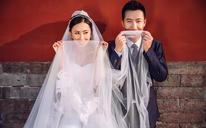 旅拍中国风 中式婚纱照自然小清新 精修全部入册