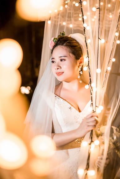 三亚苏苏丽娅婚纱摄影【夜景婚纱照 客片分享】