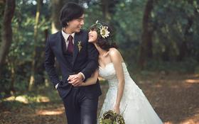 北京旅拍婚纱摄影 森系自然小清新 免费赠男士衬衫