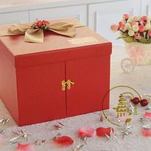 喜糖礼盒喜庆创意喜糖喜饼礼盒成品 创意精美大气伴手礼