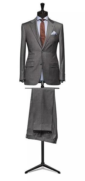 【巴朝西服定制】穿衬衫打领带的男人都是上神!