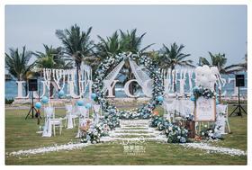 【糖果海外婚礼】三亚户外婚礼 | 蓝 · 澜