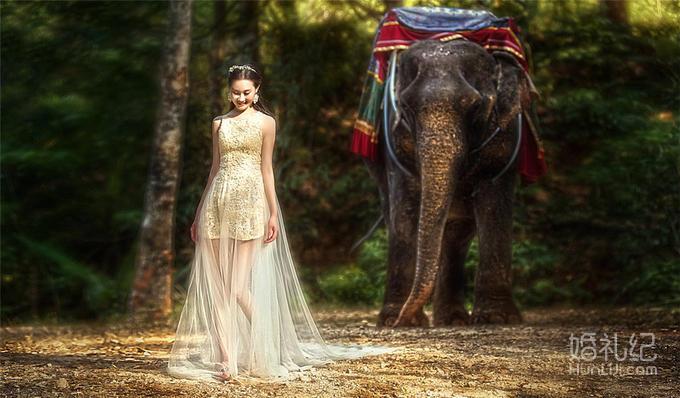 普吉岛 「普吉岛旅拍婚纱照」送大象拍摄+专车服务