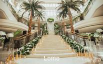 棕榈泉【逆光】森系婚礼