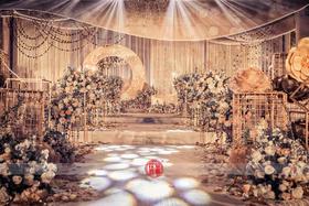 【花堂喜事创意婚礼】——星光绽放