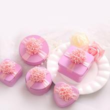 喜糖盒子定制马口铁盒欧式结婚喜糖盒心形婚礼糖盒创意结婚喜糖盒