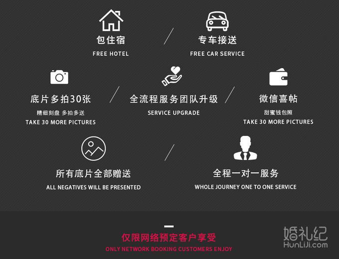 云南旅拍「钜惠」套餐一价全包+4天古城客栈/任拍