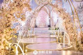 温柔香槟色梦幻主题婚礼《刚好遇见你》