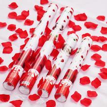 包邮:浪漫玫瑰花礼花 婚庆礼宾花 手持花瓣喷彩 婚礼派对礼炮