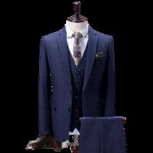 男士结婚西服两件套/三件套 新郎西装套装  送领带领结!