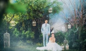 《帷幕女神》——潘朵拉森系婚纱照 样片欣赏