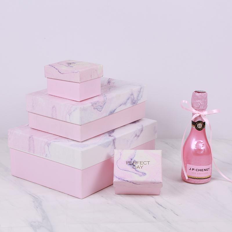 多囍优品 大理石典雅礼盒包装盒创意礼物盒喜糖盒子纸盒伴手礼盒图片