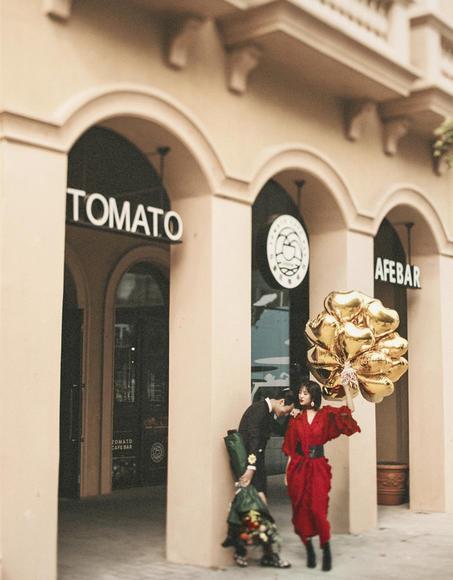 蜜语婚纱摄影 街拍婚纱照 新作品展示