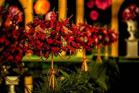 森林系列精致婚典——红色主题婚礼