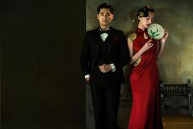 《茜茜公主美学馆》——工笔画复古婚纱照系列3