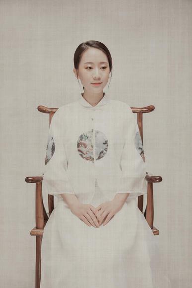 尚点视觉客照-《袅娜少女》中式婚纱摄影