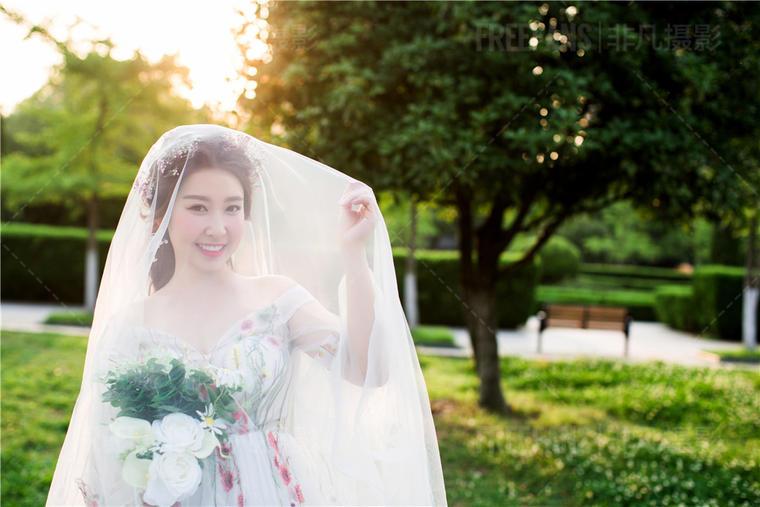 【非凡客片欣赏】Mr陈&Mrs滑 小清新婚纱照