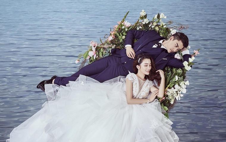 【济南第八高端婚纱摄影】韩式婚纱照片展示