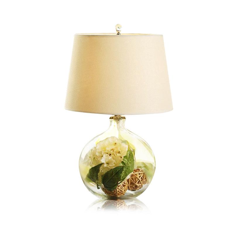 美式创意台灯卧室床头灯简约现代欧式浪漫温馨结婚房