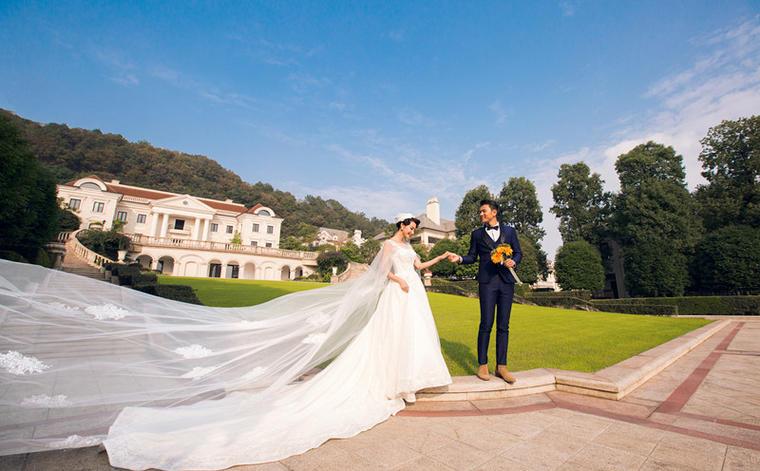 欧式大气风格婚纱照原摄影推荐