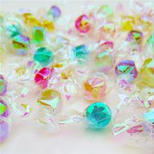 多彩糖500g约280颗炫彩许愿水果糖果结婚庆喜糖水晶糖批发