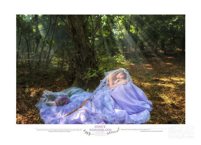 【他她】超仙梦幻清新森系婚纱照主题  领卷立减