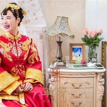 華芬中式嫁衣定制 原创 梦中的嫁衣 于越 原版秀禾服 高级定