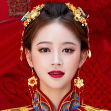 中式新娘龙凤褂配饰